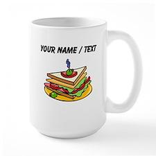 Custom Club Sandwich Mugs