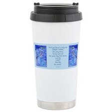 Cute Birdwatching Travel Mug