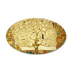Gustav Klimt Tree Of Life Wall Decal