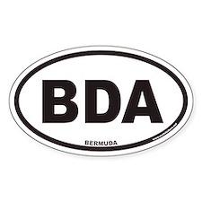 Bermuda BDA Euro Oval Decal
