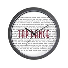 Tap Dance Wall Clock