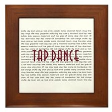 Tap Dance Framed Tile