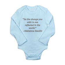 Unique Famous quote Long Sleeve Infant Bodysuit