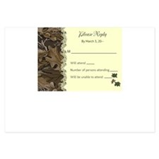 Camo Camouflage Reply / RSVP cards Invitations