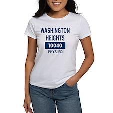 WASHINGTON HEIGHTS Phys. Ed. Tee