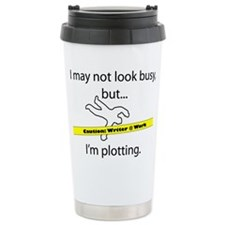 Unique Writer Stainless Steel Travel Mug