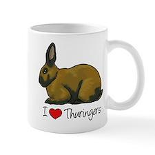 I Heart Thuringers Mugs