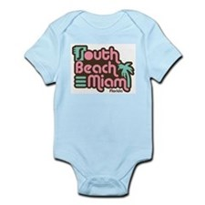 South Beach Miami Florida Infant Bodysuit