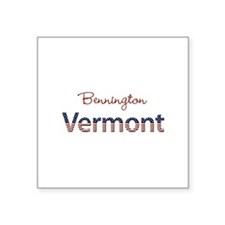 "Custom Vermont Square Sticker 3"" x 3"""