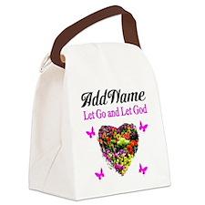 LET GO LET GOD Canvas Lunch Bag