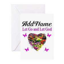 LET GO LET GOD Greeting Cards (Pk of 20)