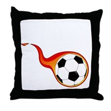 Funny Honduras football Throw Pillow