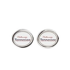 Custom Tennessee Oval Cufflinks