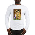 Kiss & Whippet Long Sleeve T-Shirt