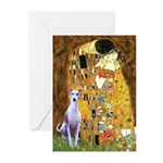 Kiss & Whippet Greeting Cards (Pk of 10)