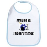 My Dad is the Drummer Bib