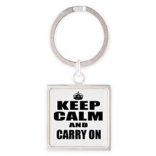 Custom Keep Calm Keychains
