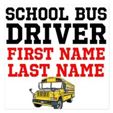 School Bus Driver Invitations