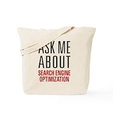 Search Engine Optimization Tote Bag