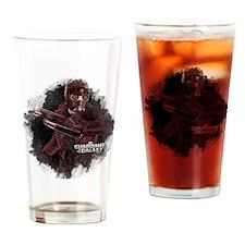 Star Lord Grunge Drinking Glass