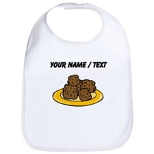 Custom Plate Of Meatballs Bib