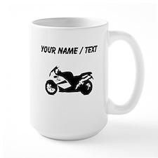 Custom Crotch Rocket Motorcycle Mugs
