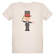 Cartoon Magician T-Shirt