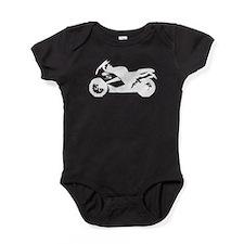 Crotch Rocket Motorcycle Baby Bodysuit