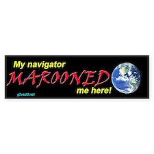 g2vsol3 MAROONED Bumper Bumper Sticker