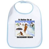 Dachshund Beach Bib