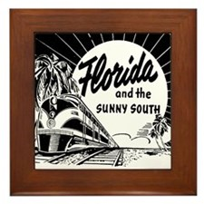 Vintage FLORIDA Framed Tile