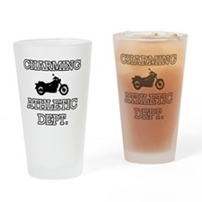 Charming Athletics  Drinking Glass