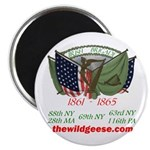 "Irish Brigade - 2.25"" Magnet (100 pack)"