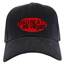 Bad Beat Black Poker Hat