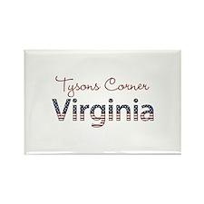 Custom Virginia Rectangle Magnet
