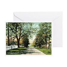 Bethany Rd. Hazlet NJ Greeting Card
