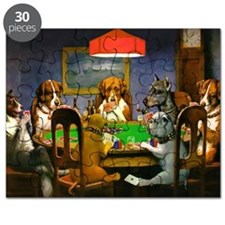 Poker Dogs Friend Puzzle