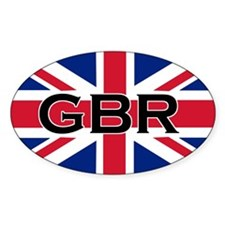 Cute Great britain Decal