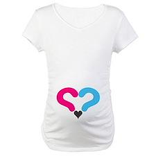Maternity Question Mark Heart Shirt