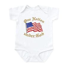 One Nation under God Infant Bodysuit