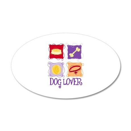 DOG LOVER Wall Decal