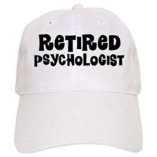 Retired psychologist Baseball Baseball Cap