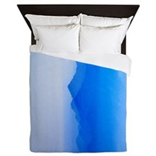 Abstract watercolor texture ombre Queen Duvet