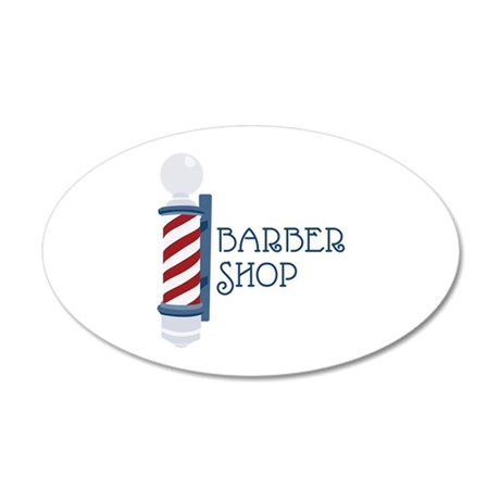 Barber Shop Wall Decal