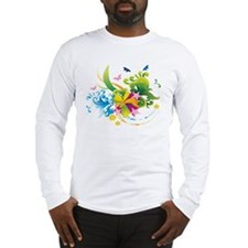 Summer Flower Power Long Sleeve T-Shirt