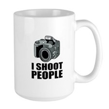 I Shoot People Photographer Mugs