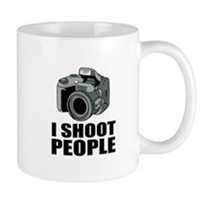 I Shoot People Photography Mugs