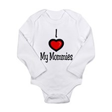 Cute Lesbian family Long Sleeve Infant Bodysuit