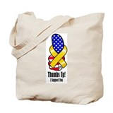 Thumbs Up Support Tote Bag