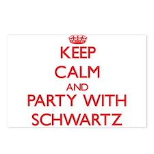Schwartz Postcards (Package of 8)